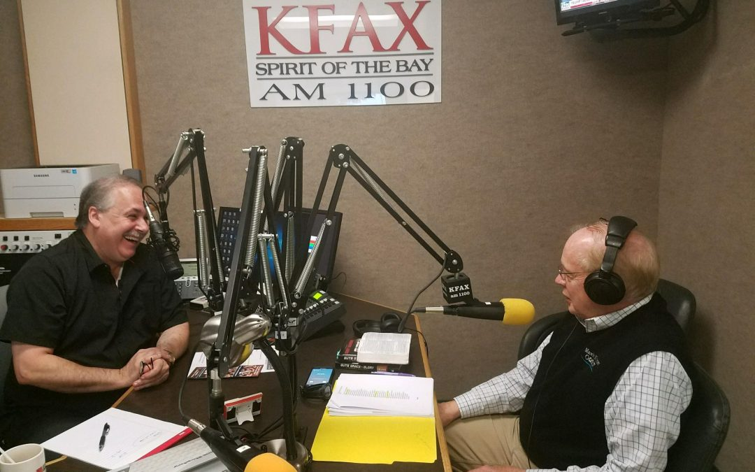 MMC on KFAX Radio Show