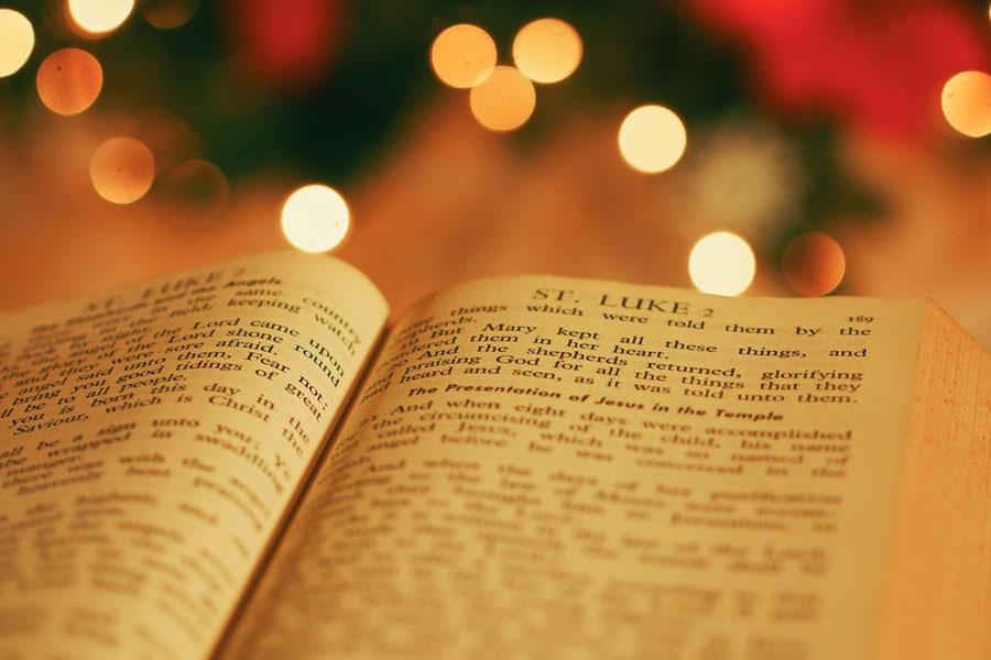 Christmas story in Luke