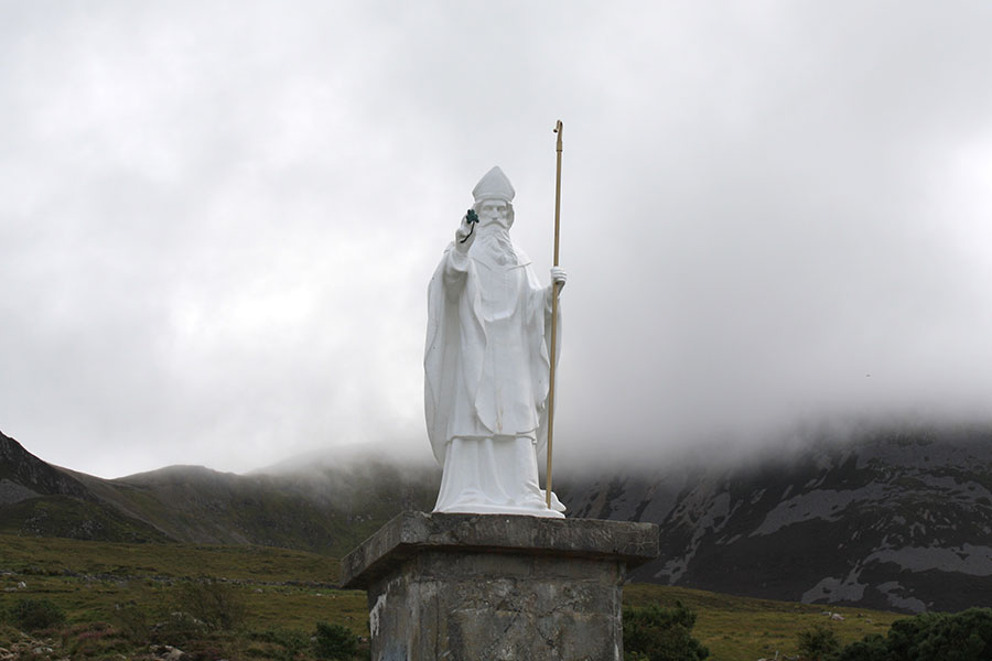 Statue of St. Patrick At Croagh Patrick