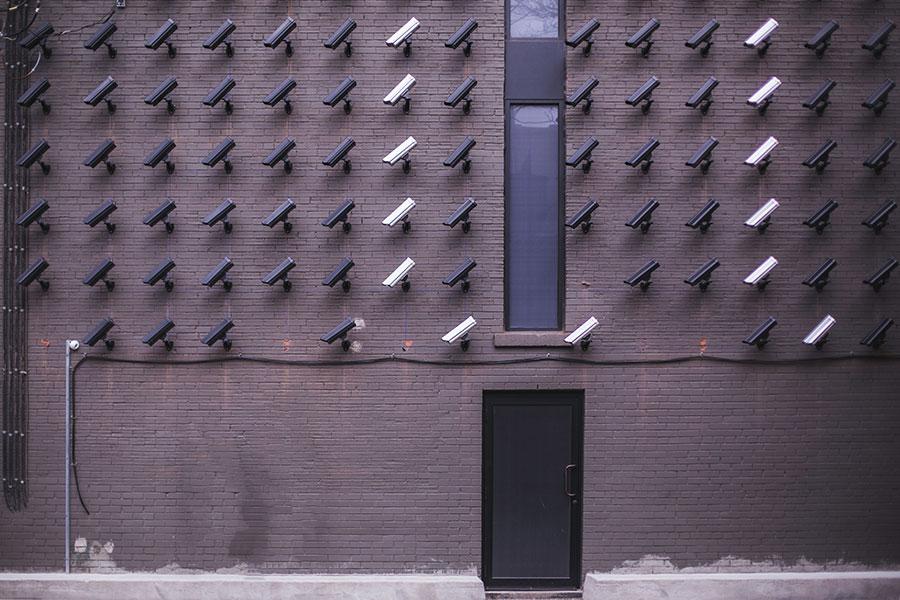 Too many security cameras
