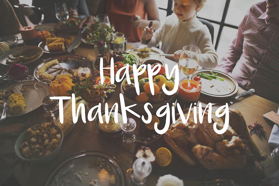 November 26, 2019 – Happy Thanksgiving
