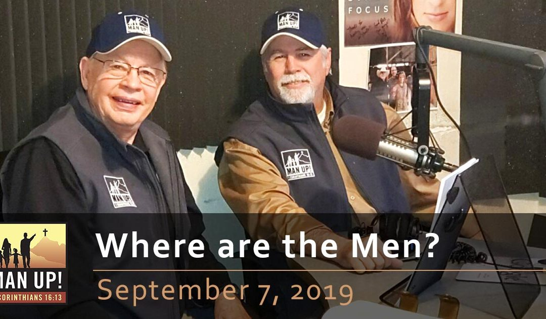 Where are the Men? September 7, 2019