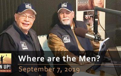 Where are the Men? September 7, 2019