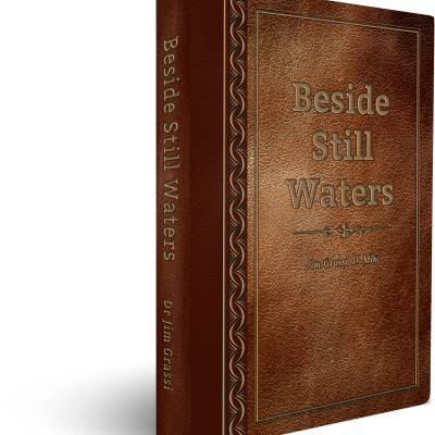 Beside Still Waters - Jim Grass (Simulated Leather)